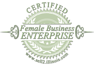 FBE certified by Illinois BEP logo