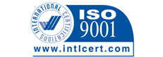 ISO 9001: 2008 Certification logo