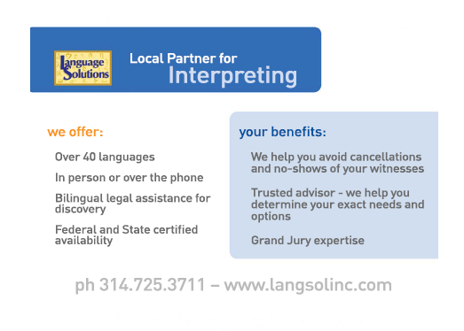 Interpreters and Translators in St. Louis with Language Solutions