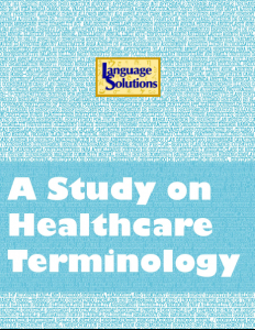 A Study in healthcare terminology cover image