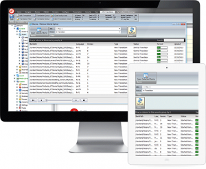 Screenshot of computer