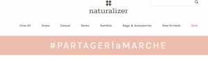 localized french hashtag for naturalizer
