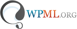 logo of WPML to allow website localization services