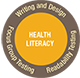 health literacy logo for healthcare translations