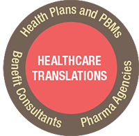 healthcare translations logo identifying the industries we serve