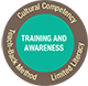 training and awareness logo for health literacy iniatives