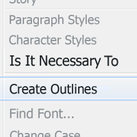 Is it Necessary to Outline Fonts in InDesign?