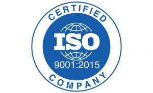 Seal for ISO 9001:2015 for certified translation services st louis